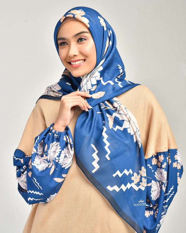 Beauty Blue Scarf